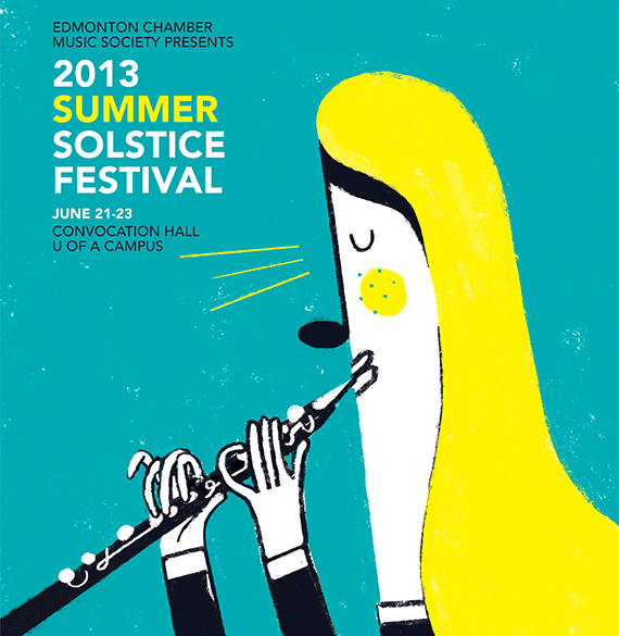 The Edmonton Chamber Music Society presents Summer Solstice 2013 | June 21-23, 2013